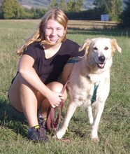 NIEVE, Hund, Golden Retriever-Herdenschutzhund-Mix in Kronach - Bild 11